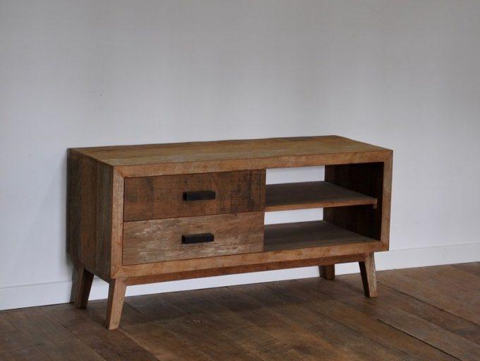 Vintage tv meubel klein